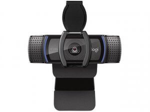 The Logitech C920s webcam
